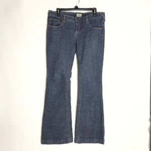Free People Flare Wide Boot Jeans 30